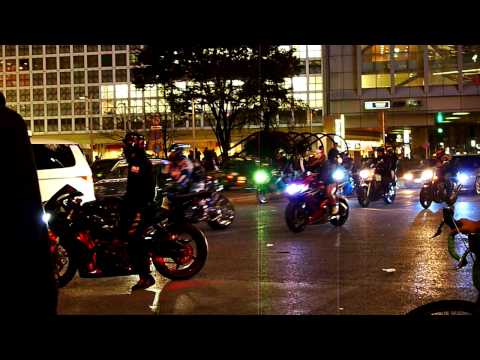 Shibuya (Tokyo) Bike Gang