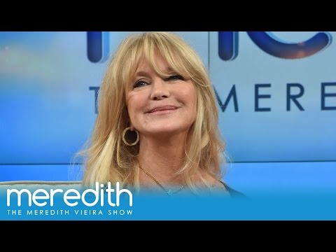 Goldie Hawn Recalls Beautiful Memory With Kate Hudson | The Meredith Vieira Show