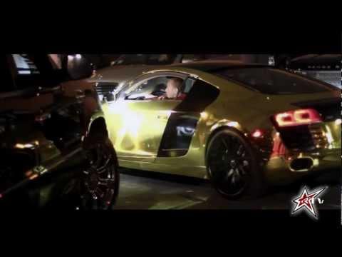 Tyga Gets A Gold R8