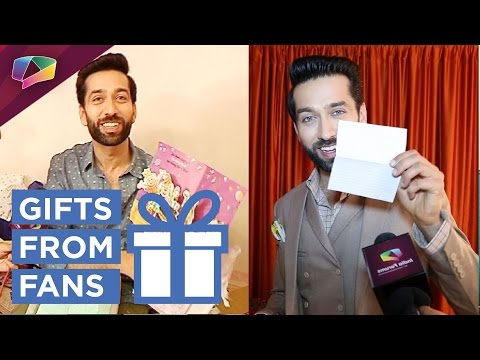 Nakuul Mehta Receives Gifts From Fans