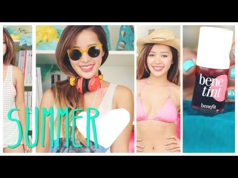 MichellePhan - Back to the video! It's time for favorites! I'm gonna show you some of my favorite summer fashion finds, tips on summer fashion, my favorite summer products,...