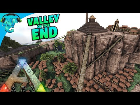 Final Raid for Total Control of ARK - Assault on the Valley of the END! ARK Survival Evolved
