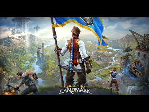EverQuest Next Landmark | Gameplay español  +  Primeras impresiones