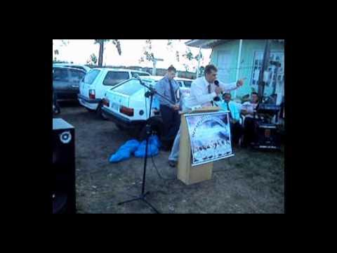 Culto de Missões no bairro lagoão em Araranguá-SC