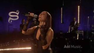 Alicia Keys videoklipp Try Sleeping With A Broken Heart (Aol Sessions) (Live)