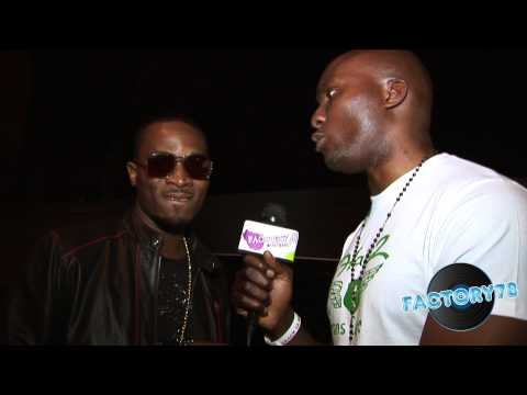 0 Factory78tv Catches up with DBanj at Crack Ya Rib London SHow