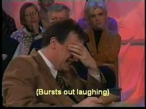 Boemerang presentator cant stop laughing