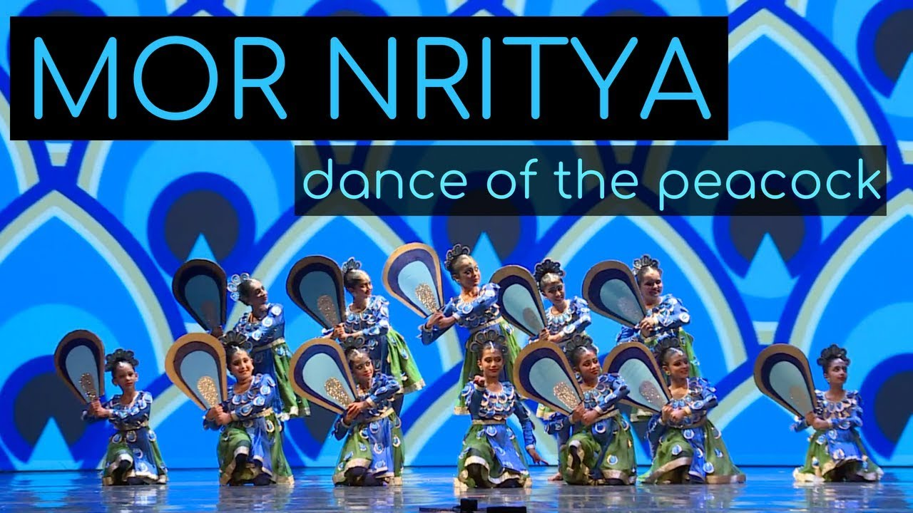 Mor Nritya (Peacock Dance) | Kruti Dance Academy