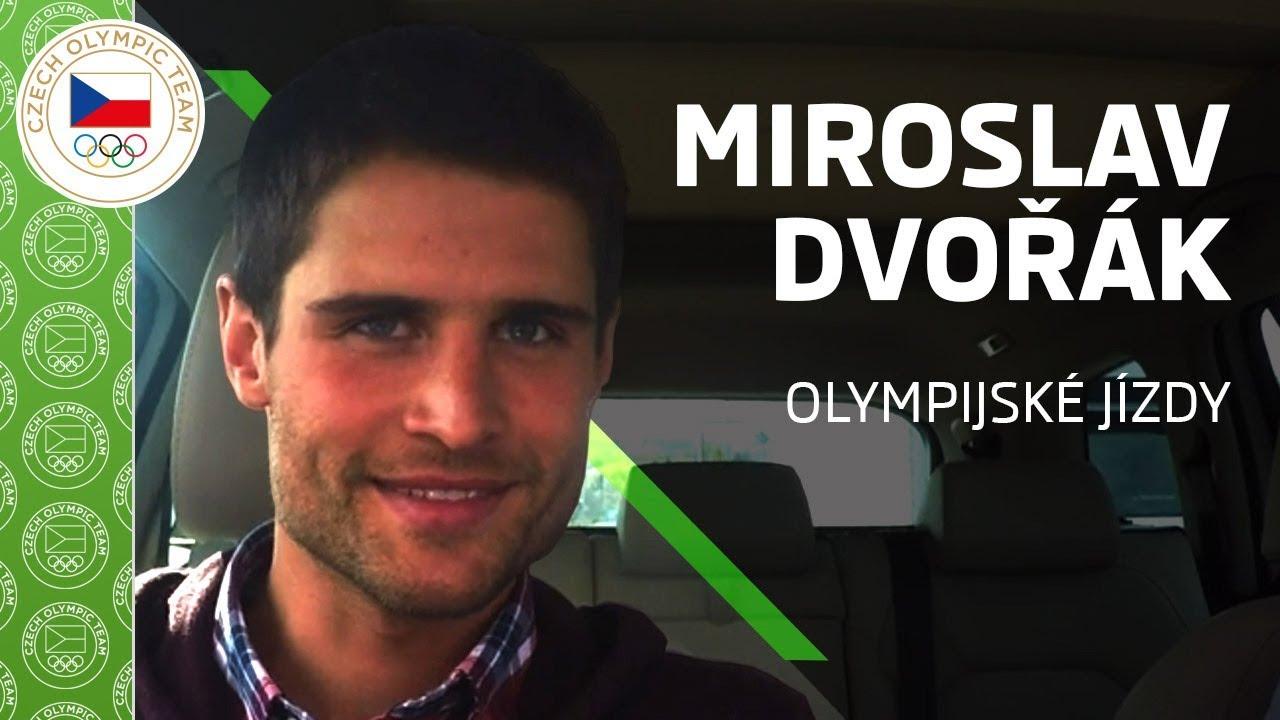 ŠKODA olympijské jízdy s Miroslavem Dvořákem