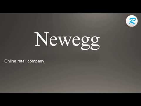 How to pronounce Newegg | Newegg Pronunciation | Pronunciation of Newegg