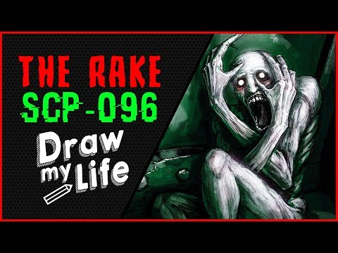 THE RAKE / UOMO TIMIDO 💀 DRAW MY LIFE SCP 096