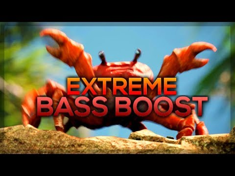 [EXTREME BASS BOOST] Noisestorm - Crab Rave (Monstercat Release)