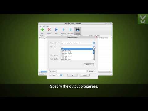 Naturpic Video Converter  - Convert video files in batch - Download Video Previews