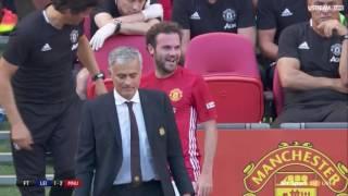 Video Juan Mata reaction to Jose Mourinho substituting him in Community Shield Final MP3, 3GP, MP4, WEBM, AVI, FLV Juni 2018