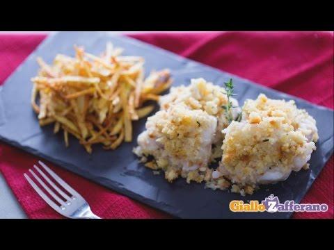 coda di rospo con patate - la video ricetta