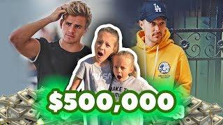 UNBELIEVABLE $500,000 PRIZE! 🤑 Jeff vs Cole LaBrant Challenge