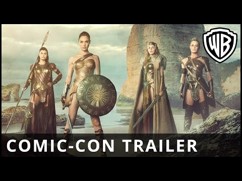 Preview Trailer Wonder Woman, primo trailer italiano