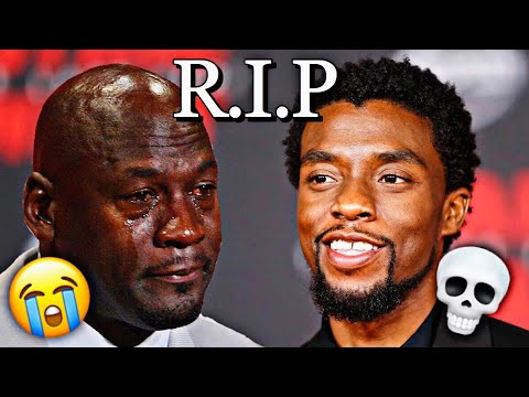 Celebrities React To Chadwick Boseman Death! (R.I.P Black Panther)
