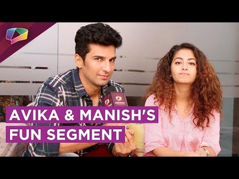 Avika Gor And Manish Raisinghan Play Would You Rat