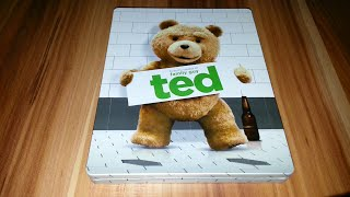 Nonton TED - Steelbook Blu-ray Limited Edition Unboxing Film Subtitle Indonesia Streaming Movie Download