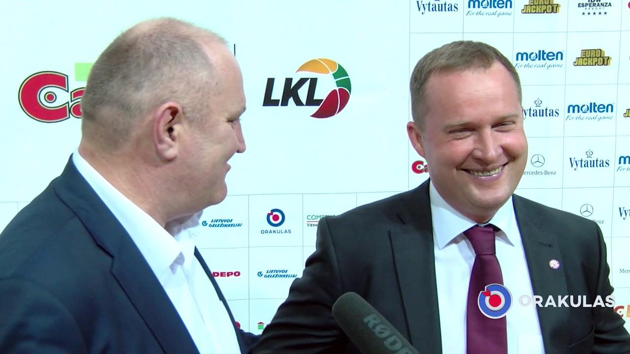 """K. Maksvytis: """"Ramu bus tada, kai rezultatas 3:0"""""""