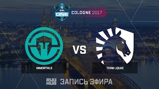 Immortals vs Team Liquid - ESL One Cologne 2017 - de_train [CrystalMay, sleepsomewhile]
