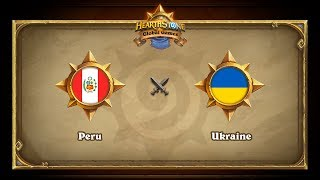 UKR vs PER, game 1