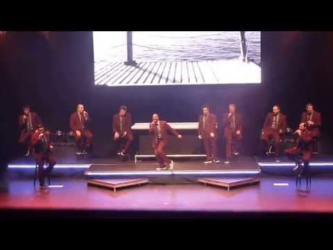 Straight No Chaser Sittin' On the Dock of the Bay/Rolling On the River Red Bank NJ 11 28 14