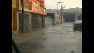 Muita chuva aqui na zona norte de São Paulo.
