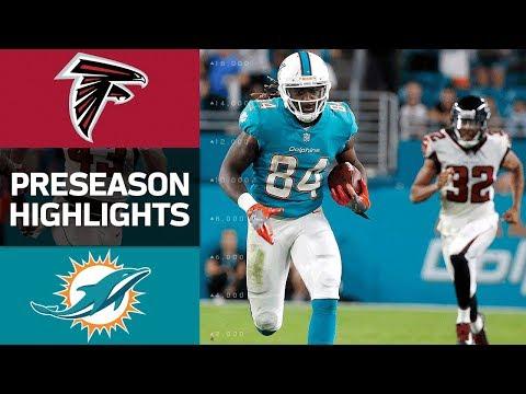 Falcons vs. Dolphins | NFL Preseason Week 1 Game Highlights - Thời lượng: 4:35.
