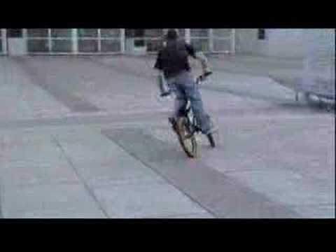 biking the skatepark