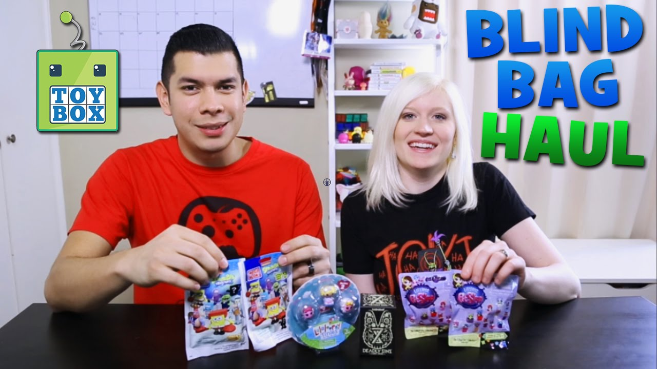 Blind Bag HAUL! Spongebob, LPS, Kidrobot & MOAR!