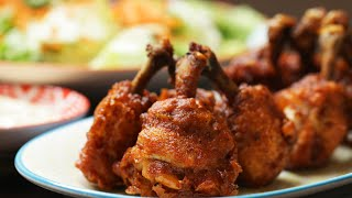 This Chicken Lollipop Hack Makes Wings Juicier And Easier To Eat by Tasty