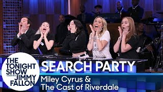 Download Youtube: Search Party with Miley Cyrus and the Cast of Riverdale