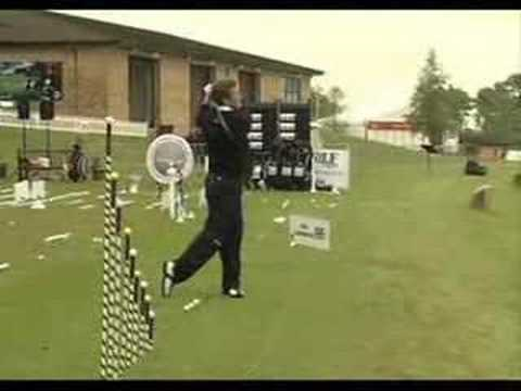 Golf trick shots!
