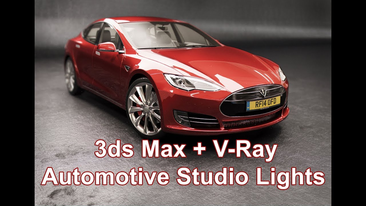 video/creating realistic studio lighting 3ds max tutorial