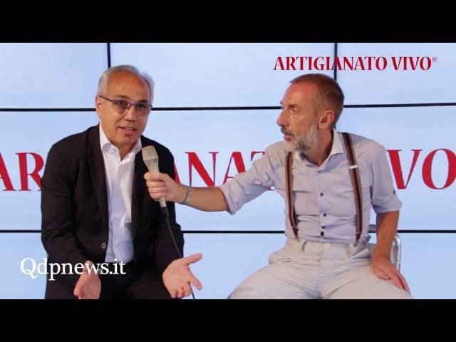 QdpNews Point a Artigianato Vivo 2016 - Pres. Camera di Commercio Mario Pozza