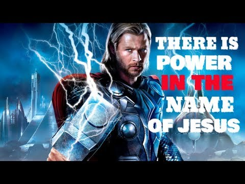 There Is Power In The Name Of Jesus - Christian Motivation