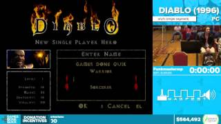 Diablo By Funkmastermp In 20 35   Awesome Games Done Quick 2016   Part 127