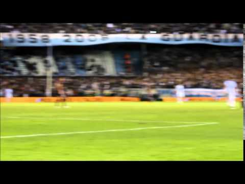 Video - Hinchada Racing Club 2   Lanus 0 - La Guardia Imperial - Racing Club - Argentina