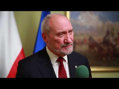 Minister A. Macierewicz: Wspólna obrona daje nam szansę przetrwania