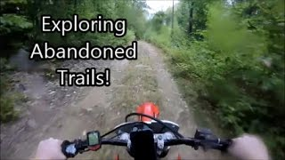 I just went out and decided to go explore some trails and film it. sorry for the water on the lens i forgot to wipe it off. stay tuned for part 2 please subscribe and comment and like really appreciate itHope you guys like my new intro. Intro Song: Meek Mill- Pray for EmI Ride a 2003 Honda CRF150F. (sold)I am a Motovlogger / Dirt Biker.This video was filmed on a closed course in Mexico.All content posted under this domain has neither any affiliationwith its poster nor any relation to the rider portrayed in anyway which includes, but is not limited to his or her likeness,location, or personal identity. All stunts were performed by orunder the supervision of trained professionals. Do not try anythingyou see at home. Some locations may have been modified to appear riders are riding somewhere they are not. In order to be more relatable to certain viewer locations and or demographics.