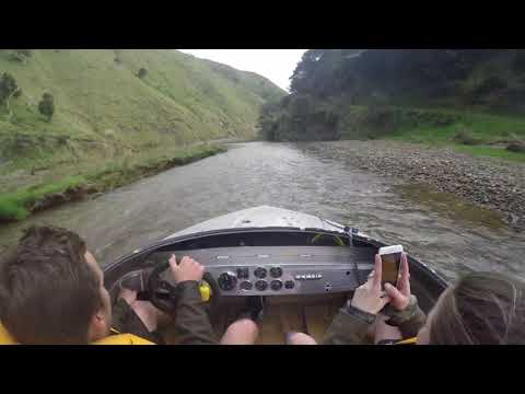 Crazy High Speed Boat Ride Through Shallow Water