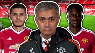 José Mourinho's Manchester United Targets Revealed! | Transfer Talk by Football Daily