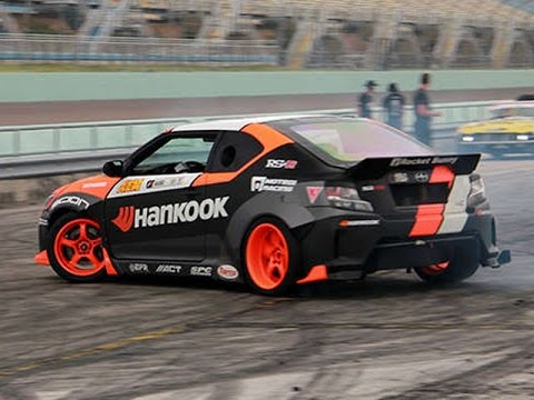 Fredric Aasbo Formula Drift Interview at the Irwindale Speedway