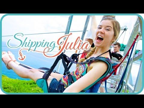 julia - The Fight - Shipping Julia Ep. 4 - http://bit.ly/VLKitS SURFING WIPEOUTS (episode 2) - http://bit.ly/1yG6FOf More Shipping Julia on Royal Caribbean's tumblr! http://shippedonroyal.tumblr.com/...