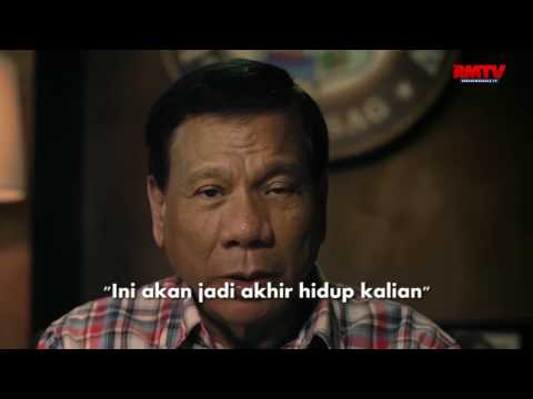 Salam Natal Presiden Duterte, Tenang dan Mengancam