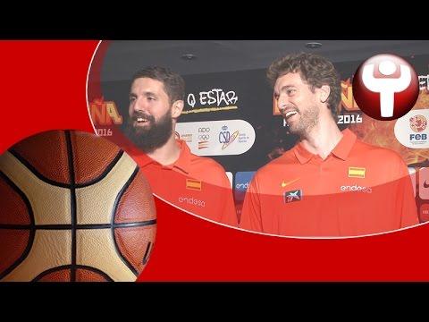 El otro lado del 'media day' de la selección española de baloncesto