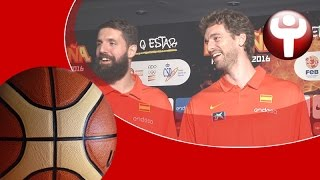 El otro lado del \'media day\' de la selección española de baloncesto