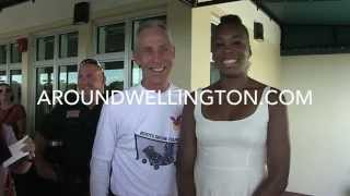 Wellington Tennis Center Grand Opening with Venus Williams - NewsSpot Story